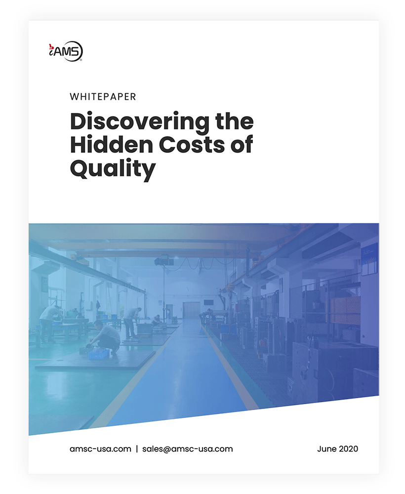 the hidden costs of quality whitepaper